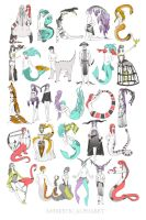 Animistic Alphabet by Windnstorm