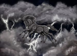 Sleipnir - The 8 legged horse