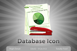 Database Icon by Lukasiniho