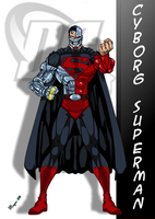 Cyborg Superman: variant by skywarp-2