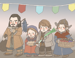 Bard Family by girabbit