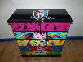 Monster High drawers 2 by Will1885
