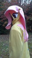 Fluttershy Hoodie by shindigapparel