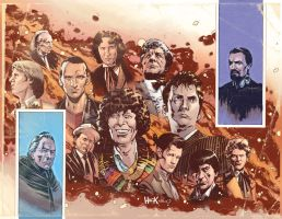 Doctor Who Prisoners of Time #12 Variant Covers by RobertHack