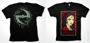 Playeras Evanescence by ulisesart2
