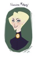 Narcissa Malfoy by CaptainChants