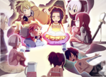 Fairy Tail -  Once upon a time... by Takyya