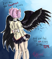 Homura why this by Krazzy-kat