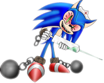 Sonic Contest Entry MAD SONIC by Mephilez