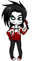 New version: Jeff The Killer by BeautifulFlowerZ