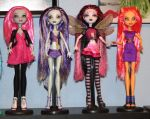 My newest ghouls by rainbow1977