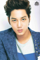 Green Eyes Jongin - Kai by SwagSagwa