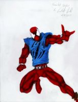 Scarlet Spider 2 colored by Panther10