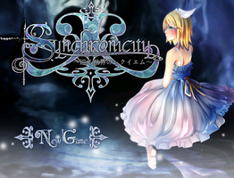 New Synchronicity Title Screen by mersan-sama
