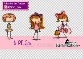 GIRLS FASHION [PNG] by JasminEdition