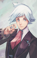 Steven Stone Bust by BloodnSpice