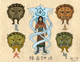 Avatar Origins by Jeffrey-Scott