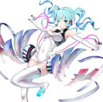 Racing Miku 2014 by ryuudog
