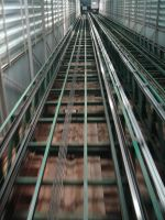 View from elevator by TeSiamese