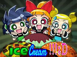 We All Scream For Ice Cream! by SamChan101