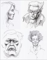 Portraits by hypnothalamus