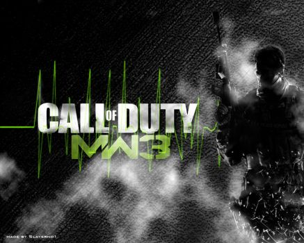 MW3 Wallpaper by Slayerno1
