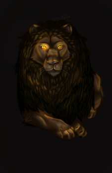 BOI HE A LION NOW by Dubstepnote09124