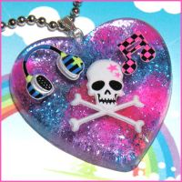 Punk Rock Necklace by bapity88