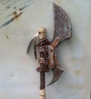 Post Apocalyptic axe by AftermathApparel