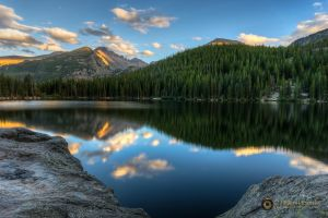 Bear Lake Sunset 6417 by pesterle