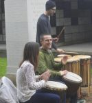 Drummers Drumming by Clangston