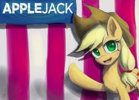 Vote for Applejack by Raikoh-illust