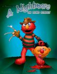 A Nightmare on Elmo St by MalSemmens
