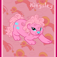 Pony Friends - Kingsley the Lion by HellLemur