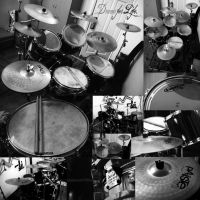 Drums by baby-drummer23