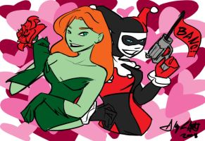 A Harley and Ivy Valentine by lizzy9046