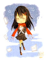 -Happy Birthday Ayano- by Caramel-Kon