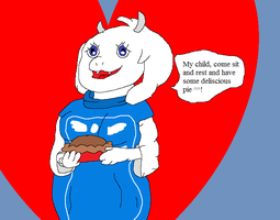 Toriel [thumbnail and gift] by thetrans4master