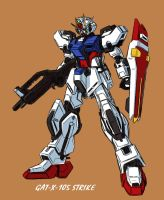 GAT-X-105 Strike Gundam RE by V2Buster
