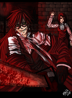 Grell . Jack the Ripper I by ManaSaya