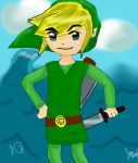Toon Link c: by strangmusicobsession