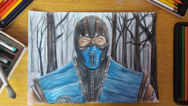Sub-zero + speed drawing on YT by DanloS