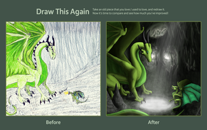 Draw This Again: The Challenge by lavaheart626