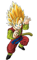 Hero SSJ by RobertoVile