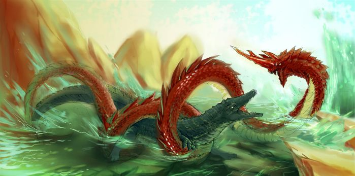 Dragon Begins by CrossScale