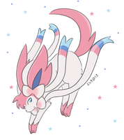 Sylveon by elenawing