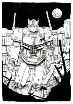 Optimus-Prime by young-sedat