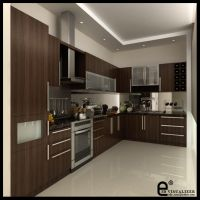 kitchen at Karmel V3 by cuanz