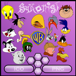 Looney Tunes Sykons by Sykonist