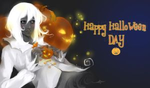 Happu Halloween by tenaku